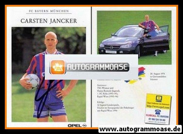 Autogramm Fussball | FC Bayern München | 1996 | Carsten JANCKER