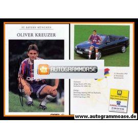 Autogramm Fussball   FC Bayern München   1996   Oliver KREUZER