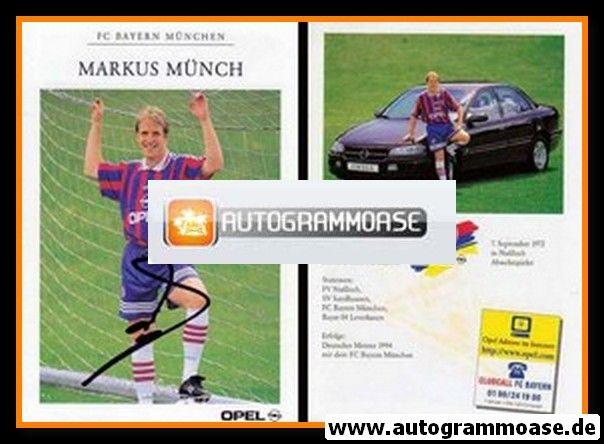 Autogramm Fussball | FC Bayern München | 1996 | Markus MÜNCH