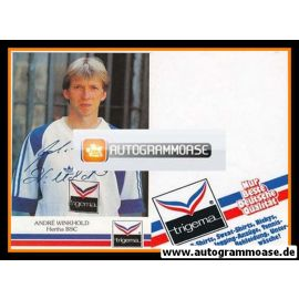 Autogramm Fussball | Hertha BSC Berlin | 1991 | Andre WINKHOLD