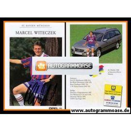 Autogramm Fussball | FC Bayern München | 1996 | Marcel WITECZEK