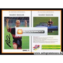 Autogramm Fussball | FC Bayern München | 1997 | Mario BASLER