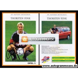 Autogramm Fussball | FC Bayern München | 1997 | Thorsten FINK