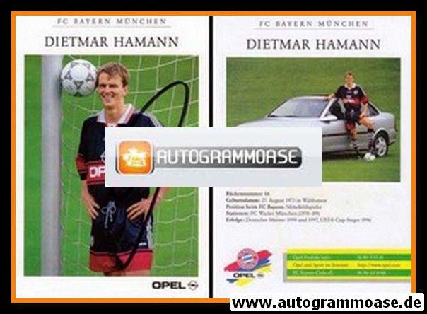 Autogramm Fussball | FC Bayern München | 1997 | Dietmar HAMANN