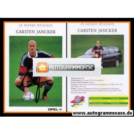 Autogramm Fussball   FC Bayern München   1997   Carsten JANCKER