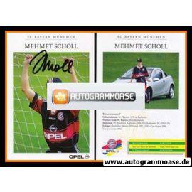 Autogramm Fussball | FC Bayern München | 1997 | Mehmet SCHOLL