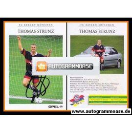 Autogramm Fussball | FC Bayern München | 1997 | Thomas STRUNZ