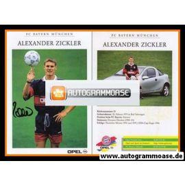 Autogramm Fussball | FC Bayern München | 1997 | Alexander ZICKLER