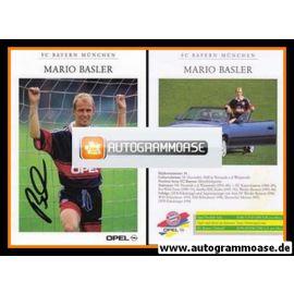 Autogramm Fussball | FC Bayern München | 1998 | Mario BASLER