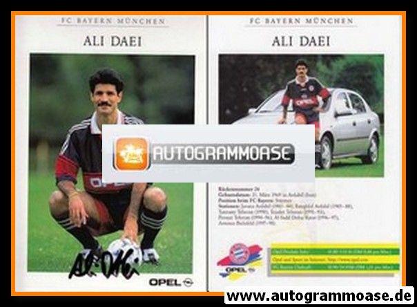 Autogramm Fussball | FC Bayern München | 1998 | Ali DAEI
