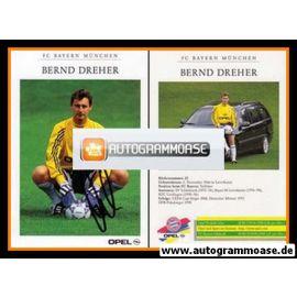 Autogramm Fussball | FC Bayern München | 1998 | Bernd DREHER