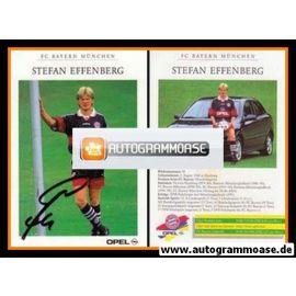 Autogramm Fussball | FC Bayern München | 1998 | Stefan EFFENBERG