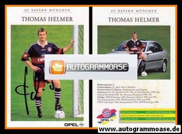 Autogramm Fussball | FC Bayern München | 1998 | Thomas HELMER