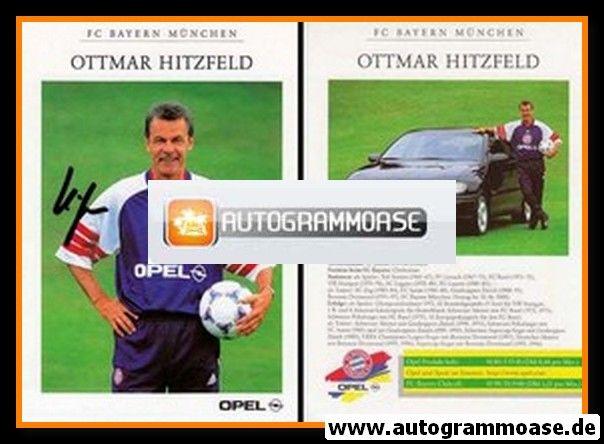 Autogramm Fussball | FC Bayern München | 1998 | Ottmar HITZFELD