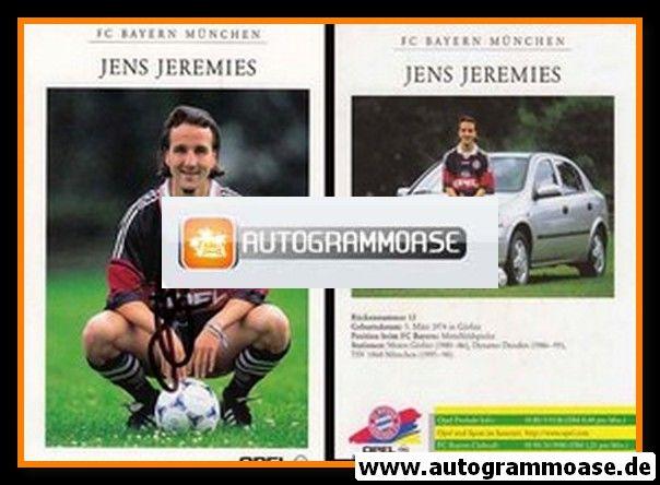 Autogramm Fussball | FC Bayern München | 1998 | Jens JEREMIES