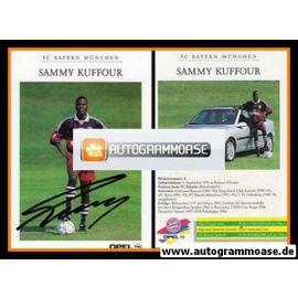 Autogramm Fussball | FC Bayern München | 1998 | Sammy KUFFOUR