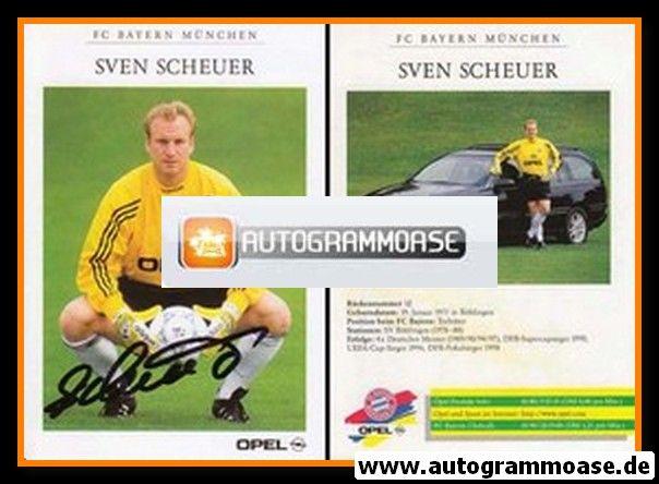 Autogramm Fussball | FC Bayern München | 1998 | Sven SCHEUER