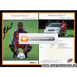 Autogramm Fussball   FC Bayern München   1999   Emanuel BENTIL
