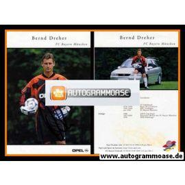 Autogramm Fussball | FC Bayern München | 1999 | Bernd DREHER