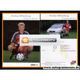 Autogramm Fussball | FC Bayern München | 1999 | Stefan EFFENBERG
