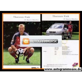 Autogramm Fussball | FC Bayern München | 1999 | Thorsten FINK
