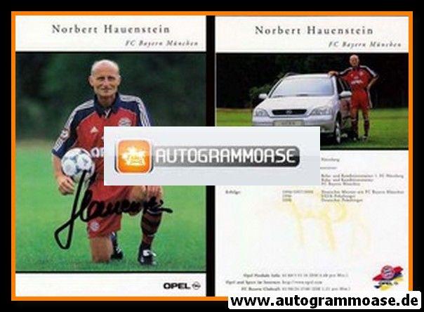 Autogramm Fussball   FC Bayern München   1999   Norbert HAUENSTEIN