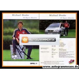 Autogramm Fussball | FC Bayern München | 1999 | Michael HENKE