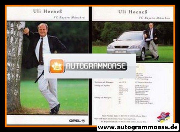 Autogramm Fussball   FC Bayern München   1999   Uli HOENESS
