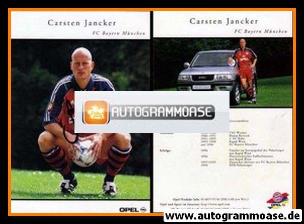 Autogramm Fussball | FC Bayern München | 1999 | Carsten JANCKER