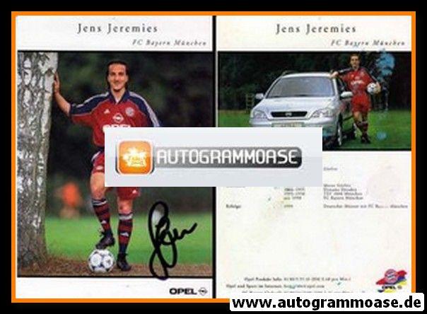 Autogramm Fussball | FC Bayern München | 1999 | Jens JEREMIES