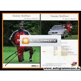 Autogramm Fussball   FC Bayern München   1999   Sammy KUFFOUR