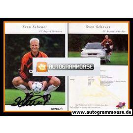 Autogramm Fussball | FC Bayern München | 1999 | Sven SCHEUER