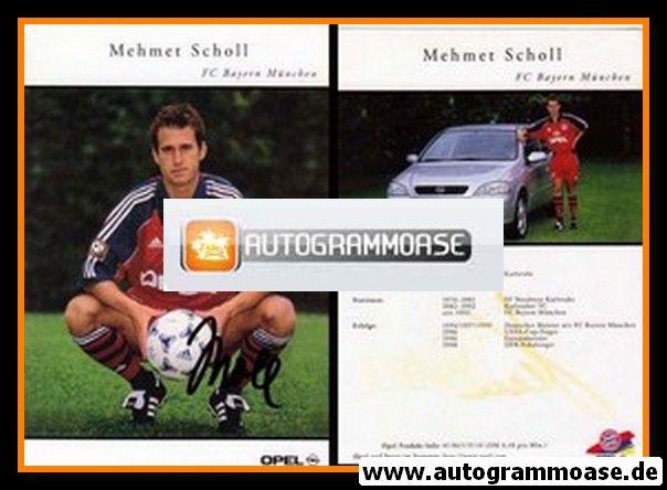 Autogramm Fussball | FC Bayern München | 1999 | Mehmet SCHOLL