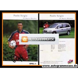 Autogramm Fussball | FC Bayern München | 1999 | Paulo SERGIO