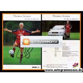Autogramm Fussball | FC Bayern München | 1999 | Thomas STRUNZ
