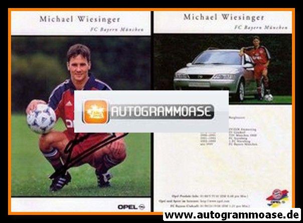 Autogramm Fussball   FC Bayern München   1999   Michael WIESINGER