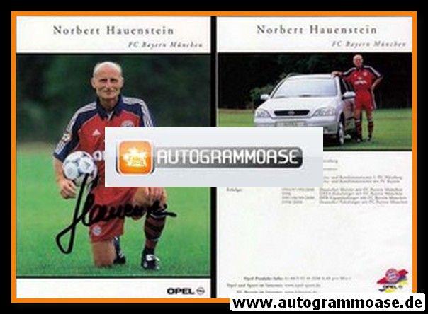 Autogramm Fussball | FC Bayern München | 2000 | Norbert HAUENSTEIN