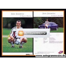 Autogramm Fussball   FC Bayern München   2000   Jens JEREMIES
