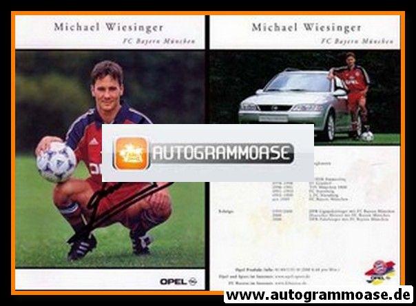 Autogramm Fussball | FC Bayern München | 2000 | Michael WIESINGER