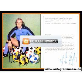 Autogramm Fussball | Borussia Mönchengladbach | 1980er | Berti VOGTS (Derbystar)