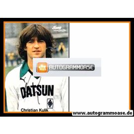 Autogramm Fussball   Borussia Mönchengladbach   1970er   Christian KULIK (Super Magazin)