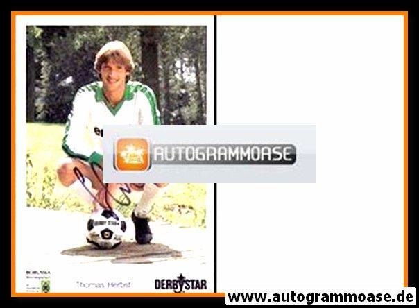 Autogramm Fussball | Borussia Mönchengladbach | 1985 | Thomas HERBST