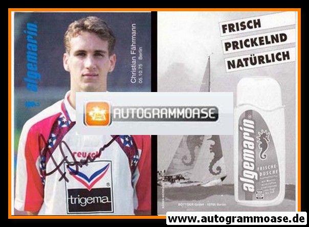 Autogramm Fussball | Hertha BSC Berlin | 1995 | Christian FÄHRMANN