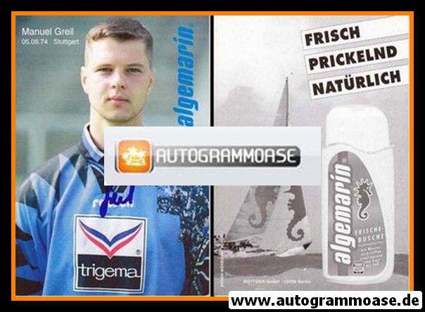 Autogramm Fussball   Hertha BSC Berlin   1995   Manuel GREIL