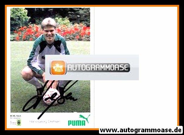 Autogramm Fussball | Borussia Mönchengladbach | 1988 | Hans-Georg DRESSEN