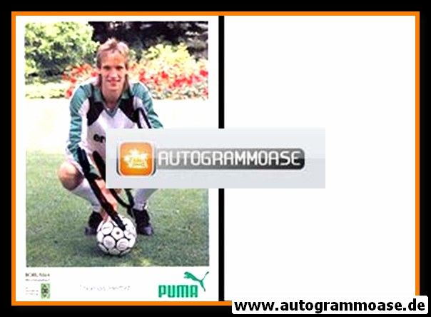 Autogramm Fussball   Borussia Mönchengladbach   1988   Thomas HERBST