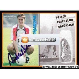 Autogramm Fussball | Hertha BSC Berlin | 1995 | Andreas SCHMIDT