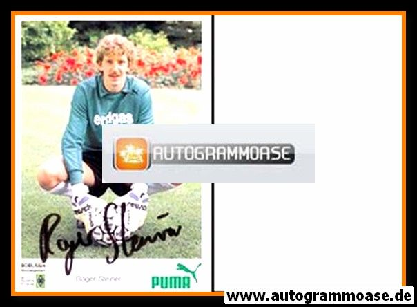 Autogramm Fussball | Borussia Mönchengladbach | 1988 | Roger STEINER