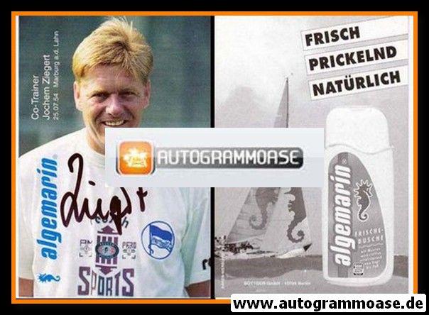 Autogramm Fussball   Hertha BSC Berlin   1995   Jochem ZIEGERT