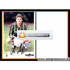 Autogramm Fussball | Borussia Mönchengladbach | 1990 | Martin MAX